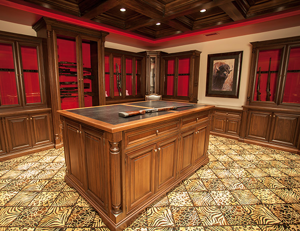 Vault Room Cabinetry GunSafe Amish Custom Gun Cabinets